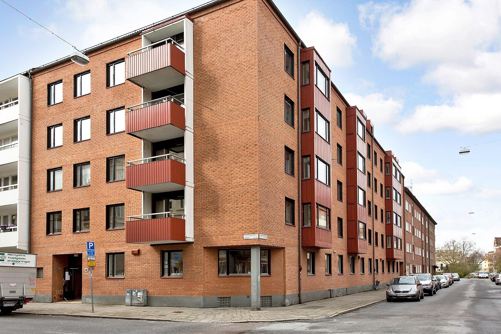 Brf Ulla 3, ombyggnad av f.d. förskola till 3st lägenheter på Tärningholmsgatan 5 A-B i Malmö.