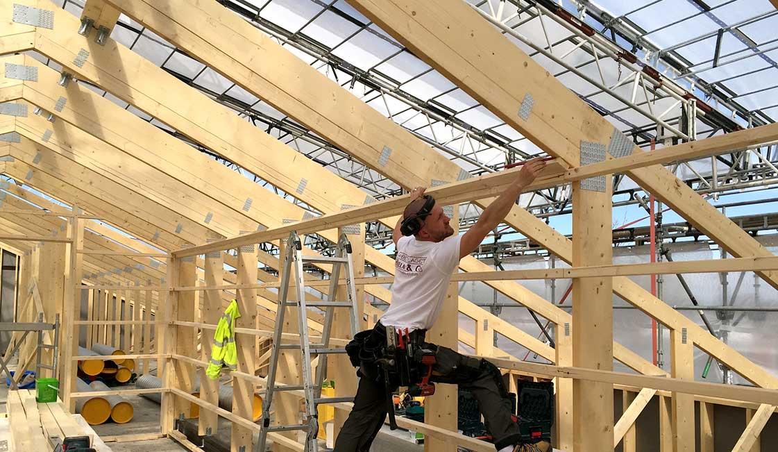 Hjelm & Co erbjuder totalentreprenad av byggentreprenader